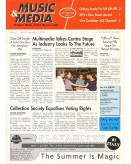 1994-09-03 - Dave Stewart - Music & Media from The Netherlands ID: 1098