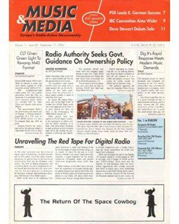 1994-09-17 - Dave Stewart - Music & Media from The Netherlands ID: 1099