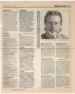 1995-04-30 - Dave Stewart - The Sunday Times from The UK ID: 1139