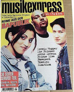 1995-05-01 - Annie Lennox - Musik Express Sounds from  Germany ID: 1141