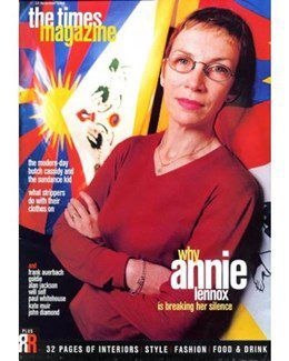 1998-12-12 - Annie Lennox - The Times Magazine from The UK ID: 1188