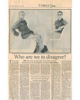 1999-07-20 - Eurythmics - The Times from The UK ID: 1204