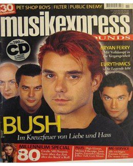 1999-11-01 - Eurythmics - Musik Express Sounds from  Germany ID: 1237