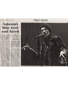 2003-06-07 - Annie Lennox - The Times from The UK ID: 1335