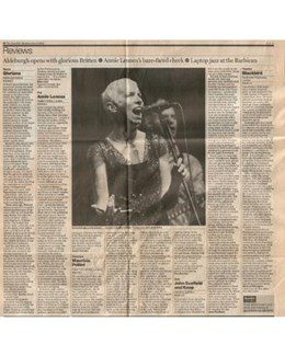 2003-06-09 - Annie Lennox - The Guardian from The UK ID: 1338