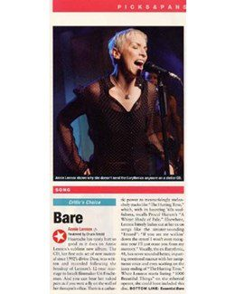2003-06-16 - Annie Lennox - People Weekly from The USA ID: 1342
