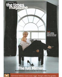 2003-08-30 - Annie Lennox - The Times Magazine from The UK ID: 1353