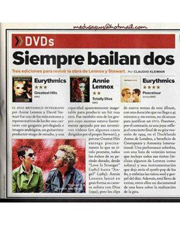 2004-12-01 - Eurythmics - Rolling Stone from  Argentina ID: 1381