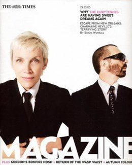 2005-10-29 - Eurythmics - The Times - Magazine from The UK ID: 1398