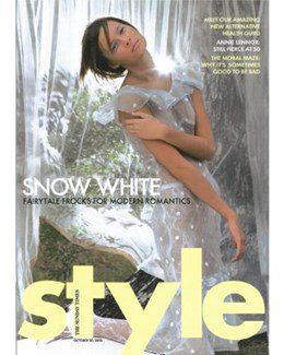 2005-10-30 - Annie Lennox - The Sunday Times Style from The UK ID: 1400