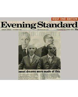 2005-11-01 - Eurythmics - Evening Standard from The UK ID: 1401