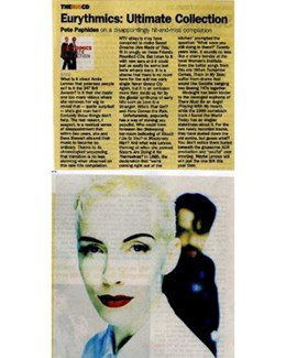 2005-11-05 - Eurythmics - The Times from The UK ID: 1407