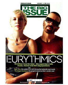 2005-11-07 - Eurythmics - The Big Issue from The UK ID: 1412