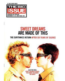 2005-11-10 - Eurythmics - The Big Issue from The UK ID: 1414