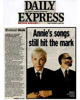 2005-11-11 - Eurythmics - Daily Express from The UK ID: 1415