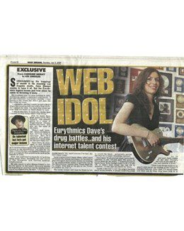 2007-07-05 - Dave Stewart - Daily Mirror from The UK ID: 1472