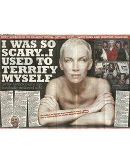 2009-03-01 - Annie Lennox - Sunday Mail from The UK ID: 1536