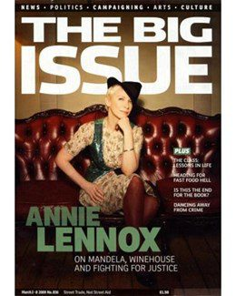 2009-03-02 - Annie Lennox - The Big Issue from The UK ID: 1537
