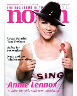 2009-08-31 - Annie Lennox - The Big Issue - In The North from The UK ID: 1557