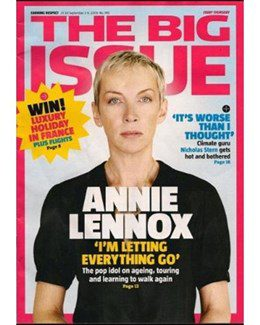 2009-09-03 - Annie Lennox - The Big Issue from The UK ID: 1558