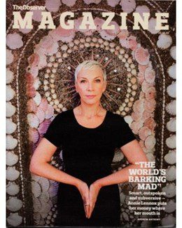2010-10-10 – Annie Lennox – The Observer Magazine from The UK ID: 1570