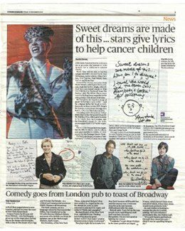2010-11-19 – Annie Lennox – Evening Standard from The UK ID: 1574