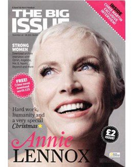 2010-11-22 – Annie Lennox – The Big Issue from The UK ID: 1577