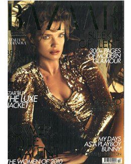 2010-12-01 – Annie Lennox – Harpers Bazaar from The UK ID: 1580