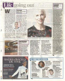 2012-03-09 - Annie Lennox - Metro from The UK ID: 1638