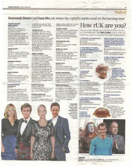 2014-06-27 - Annie Lennox - Evening Standard from The UK ID: 1680
