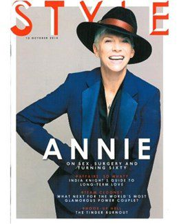 2014-10-12 - Annie Lennox - The Sunday Times Magazine from The UK ID: 1688