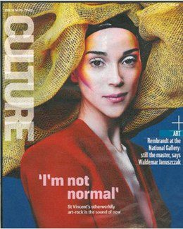 2014-10-19 - Annie Lennox - The Sunday Times - Culture from The UK ID: 1690