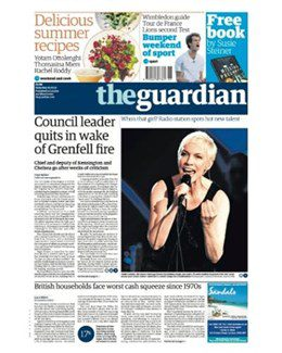 2017-07-01 - Annie Lennox - The Guardian from The UK ID: 1766