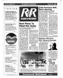 1990-03-30 - Dave Stewart - Radio & Records from The USA ID: 1857