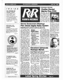 1990-06-29 - Dave Stewart - Radio & Records from The USA ID: 1860