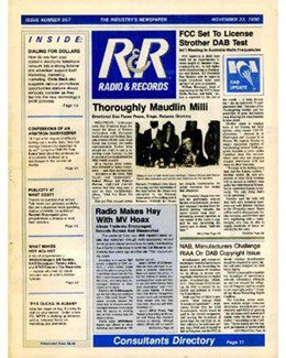 1990-11-23 - Dave Stewart - Radio & Records from The USA ID: 1862