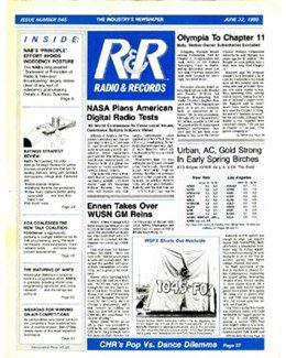 1990-06-22 - Dave Stewart - Radio & Records from The USA ID: 1895
