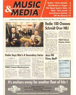1991-02-23 - Dave Stewart - Music & Media from The UK ID: 1896
