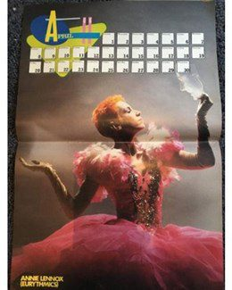 1985-12-01 - Eurythmics - Hitkrant from The Netherlands ID: 1903