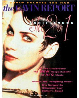1992-09-04 - Annie Lennox - The Gavin Report from The USA ID: 1997
