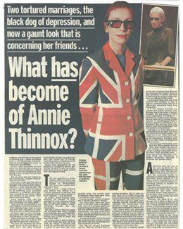 2003-03-31 - Annie Lennox - Daily Mail from The UK ID: 2027