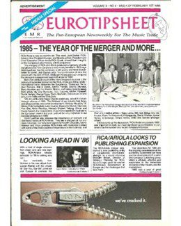 1986-02-01 - Dave Stewart - Music & Media from The USA ID: 2071