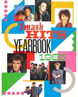 1984-12-31 - Eurythmics - 1985 Smash Hits Year Book from The UK ID: 2123
