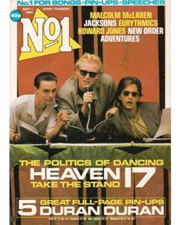 1984-09-01 - Eurythmics - No. 1 from The UK ID: 2186
