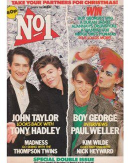 1984-12-22 - Eurythmics - No. 1 from The UK ID: 2192