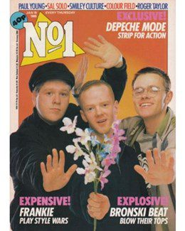 1985-01-19 - Eurythmics - No. 1 from The UK ID: 2194