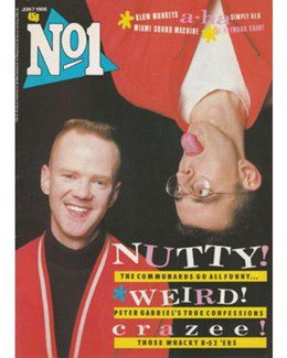 1986-06-07 - Eurythmics - No. 1 from The UK ID: 2214