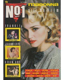 1986-10-18 - Eurythmics - No. 1 from The UK ID: 2220