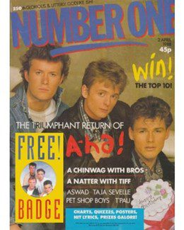 1988-04-02 - Eurythmics - No. 1 from The UK ID: 2237