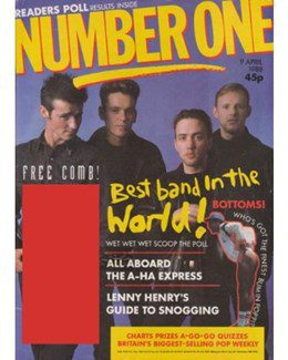 1988-04-09 - Eurythmics - No. 1 from The UK ID: 2238